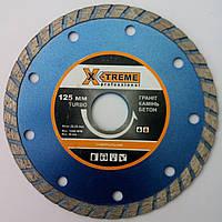 Алмазный диск для резки бетона, камня Turbo X-treme 125x2,2/1,0x8x22,23