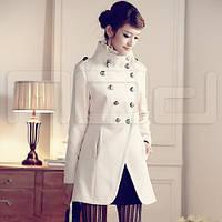 Женские пальто с приталенным воротником