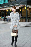 Женское пальто с воротником