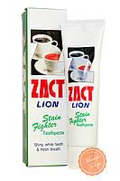 Зубная паста от кофейного налёта.  Zact Lion StainToothpaste.