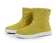Женские зимние полу ботинки, фото 1