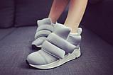 Женские кроссовки на липучках, фото 2