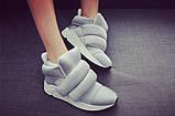 Женские кроссовки на липучках, фото 3