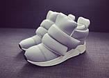 Женские кроссовки на липучках, фото 5