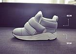Женские кроссовки на липучках, фото 7