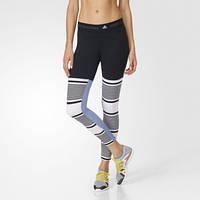 Лосины женские для спорта adidas by Stella McCartney Studio Stripe AX7047 фитнес