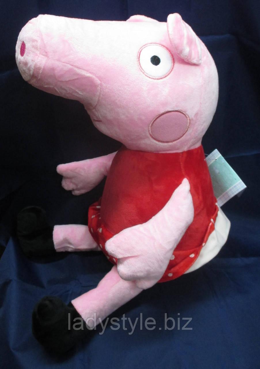 Свинка Пеппа в красном платье
