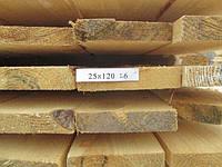 Доска обрезная 25х120х6000, фото 1