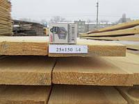 Доска обрезная 25х150х4000, фото 1