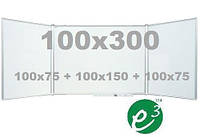 Доска керамическая маркерная 100х300 см, фото 1
