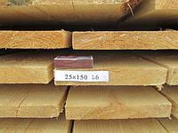 Доска обрезная 25х150 L6