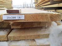 Доска обрезная 25х200 L6