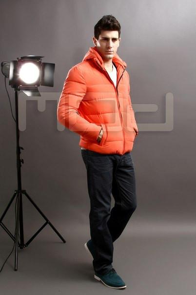 Мужской легкий стильная зимняя куртка