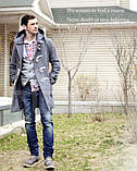 Молодежное мужское палто, фото 2