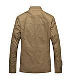 Мужское котоновое пальто на меху, фото 2