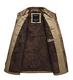 Мужское котоновое пальто на меху, фото 3