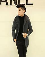 Молодежное классическое пальто, фото 1