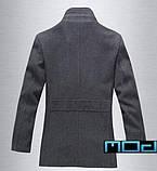 Качественное пальто с воротником, фото 2
