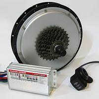 Электронабор для велосипеда 48V600W Эконом задний, фото 1
