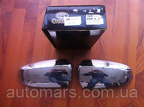 Накладки на зеркала (нерж.) BMW X6 E71