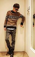 Зимний классический свитер
