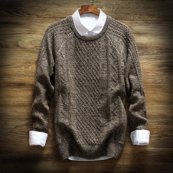 Дешевый мужской теплый свитер