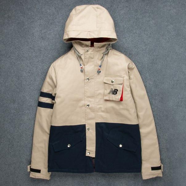 Хлопковая куртка New Balance