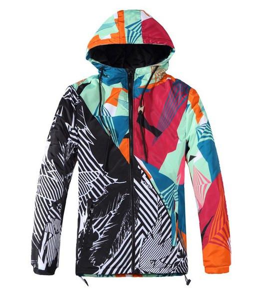 Куртка Цветная