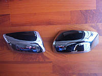 Накладки на зеркала (нерж.) Dodge Nitro