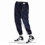 Мужские штаны на резинках с карманами Jogger, фото 3