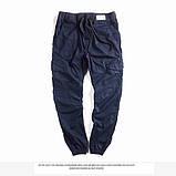Мужские штаны на резинках с карманами Jogger, фото 4