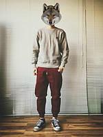 Штаны swag на резинке с белой полоской, фото 1