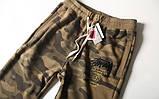 Хлопковый штаны Stussy на резинке, фото 2