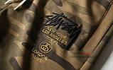 Хлопковый штаны Stussy на резинке, фото 4
