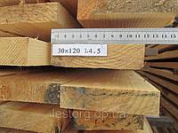 Доска обрезная 30х120х4500, фото 1