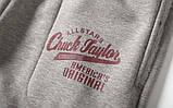 Спортивные хлопковые штаны Chuck Taylor all stars, фото 4