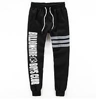 Утепленные хлопковые штаны BILLIONAIRE BOYS CLUB