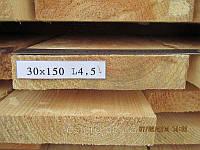 Доска обрезная 30х150х4500, фото 1