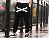 Хлопковые спортивные штаны на резинках XO, фото 7