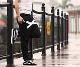 Хлопковые спортивные штаны на резинках XO, фото 8