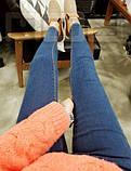Классические женские джинсы с бархатной подкладкой, фото 5