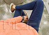 Классические женские джинсы с бархатной подкладкой, фото 6