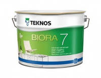 Матовая краска для стен Текнос Биора 7,  9л Б1