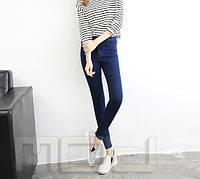 Классические облигающие женские джинсы с высокой талией