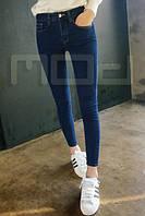 Классические женские джинсы с высокой талией