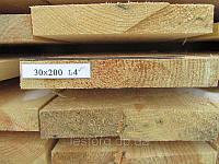 Доска обрезная 30х200х4000, фото 1