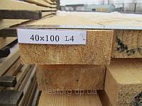 Доска обрезная 40х100х4000, фото 1