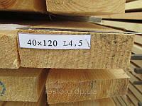 Доска обрезная 40х120х4500, фото 1