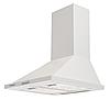 Pyramida KH 60 (1000 м3) white, купольная кухонная вытяжка, белая эмаль