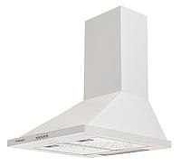 Pyramida KH 60 (1000 м3) white, купольная кухонная вытяжка, белая эмаль , фото 1
